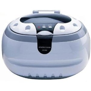 Sonic Power Professional Ultrasonic Cleaning Machine - Cleans without Harmful Chemicals, Jewelry, Watches, Optics, Eyeglasses, Dentures, and Any Other Delicate Items Cleaner