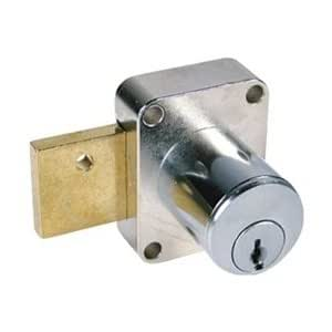 Pin tumbler cam door lock dullchrome 107 cabinet and for 007 door locks