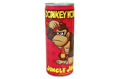 Donkey Kong Jungle Juice Energy Drink