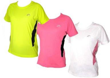 Womens More Mile Short sleeve running top