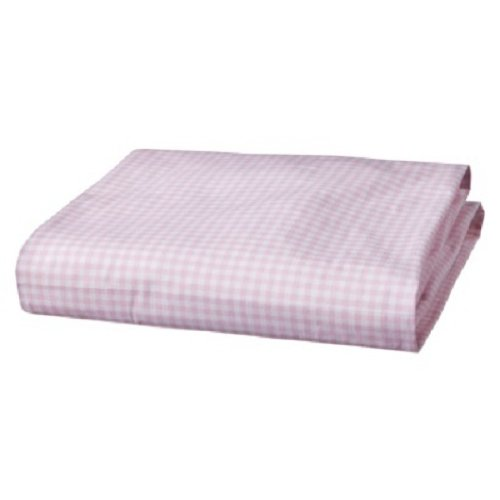 Circo Fitted Crib Sheet Gingham Pink front-1007123