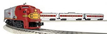 Williams by Bachmann Trains - Santa Fe Flyer Complete Electric O Scale Train Set