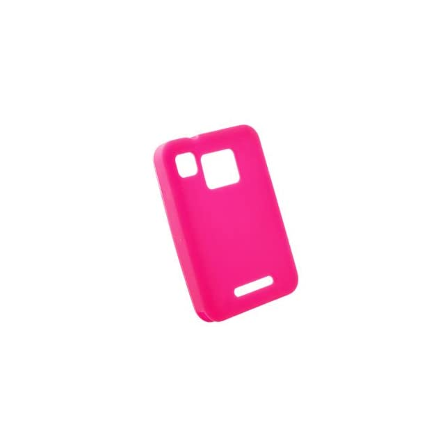 Premium Pink Silicone Skin for Motorola MB502 Charm Cell Phones & Accessories