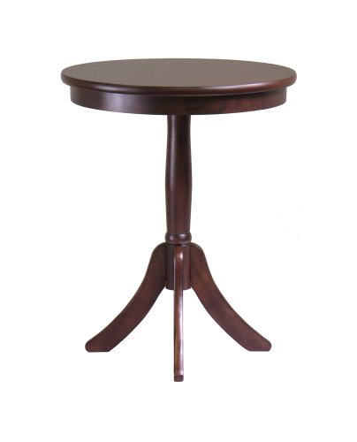 Cheap Belmont End Table With Pedestal Legs By Winsome Wood (B00563KU88)