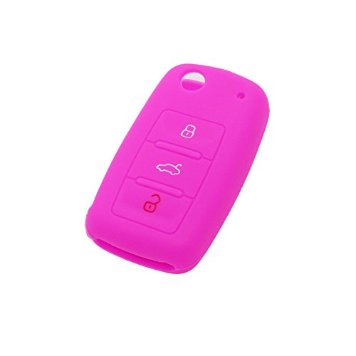fassport-silicone-cover-skin-jacket-fit-for-volkswagen-seat-skoda-3-button-flip-remote-key-cv9800-ro