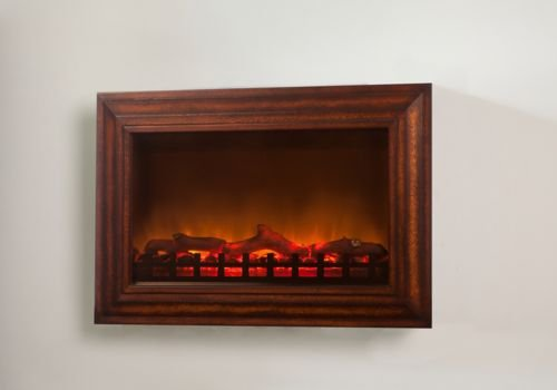 Fire Sense MDF Wall Mounted Electric Fireplace image B005B2ZRQO.jpg