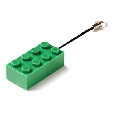 8GB GREEN Brick USB Flash Memory Drive from JellyFlash