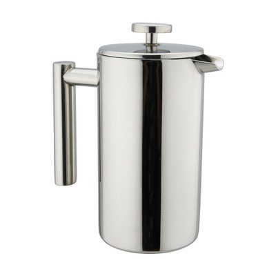 Kuissential 8-Cup Stainless Steel French Press (Coffee Plunger, Press Pot, Cafetiere)
