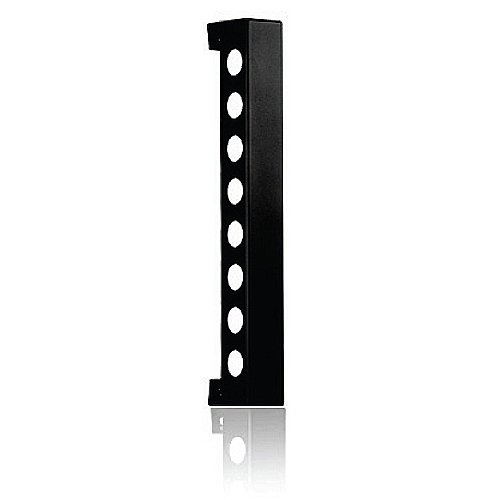 Vynebar 8 Black Bead Blast Vertical Wine Rack