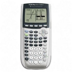 Texas Instruments TI-84 Plus Silver Edition Graphing Calculator
