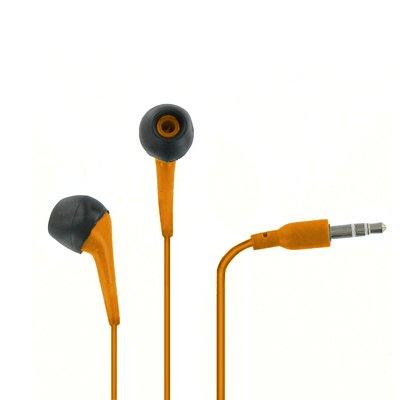 Empire 3.5Mm Orange Stereo Earbud Headphones For Nokia Lumia 521