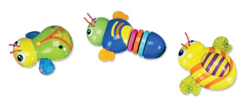 Munchkin Linking Buggies Toy - Set of 3 (Discontinued by Manufacturer)