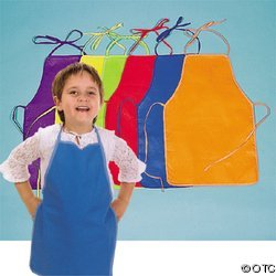 Hands on Fun! Children's Colorful Canvas Aprons