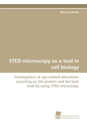 Sted Microscopy As A Tool In Cell Biology: Investigation Of Age-Related Alterations Occurring On The Protein And The Lipid Level By Using Sted Microscopy