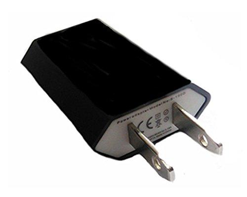 10 Travel Europe to USA Power Plug Adapter Adaptor Convert Convertor Eu To Us (Us Eu Plug Adapter compare prices)