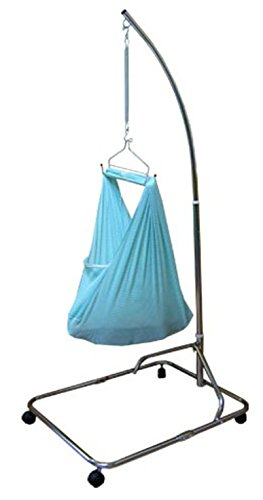 Blue Baby Hammock / Baby Cradle Net Southeast Asia Sarong Cradle Rocker Set- Blue NETTING BABY CLUB HAMMOCK ONLY (Portable Baby Swing Ac Adapter compare prices)
