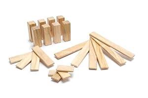 22 Piece Tegu Endeavor Magnetic Wooden Block Set, Natural
