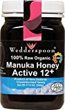 100% Organic Manuka Honey Active 12+ by Wedderspoon Organic - 500 Grams