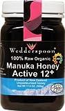 100% Organic Manuka Honey Active 12+ by Wedderspoon Organic - 500 Grams