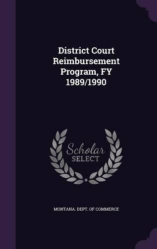 District Court Reimbursement Program, FY 1989/1990