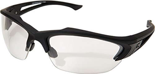 Edge Tactical Eyewear SG611 Acid Gambit Matte Black with Clear Lens