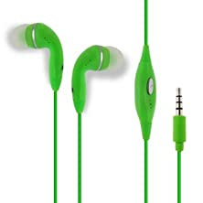 buy Green Color 3.5Mm Audio Earphone Headphones Headset Earbuds With Microphone Hands Free For Acer Liquid E2