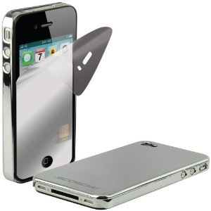 Scosche Light Chrome Metallic Polycarbonate Case for the New iPhone 4S and iPhone 4 (Verizon and AT&T)