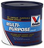 Valvoline VV614 Multi-Purpose Grease (for GM, Chrysler, European and Japanese Vehicles), Single Pack