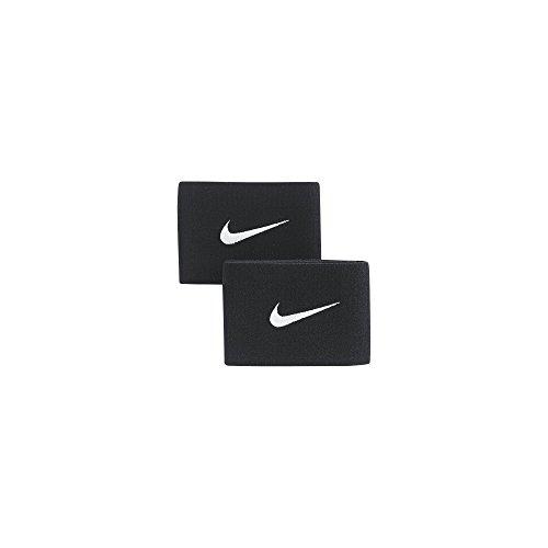 Nike Guard Stay II Polsino, Nero/Bianco