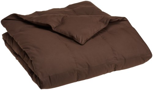Pike Street Down Comforter, Twin, Chocolate