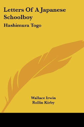Letters of a Japanese Schoolboy: Hashimura Togo