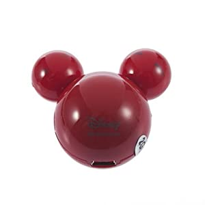 YKS 2GB Mickey Mouse IV Mini Eyes MP3 Player (red)