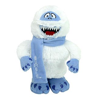 Musical Plush Abominable Snow Monster Decoration