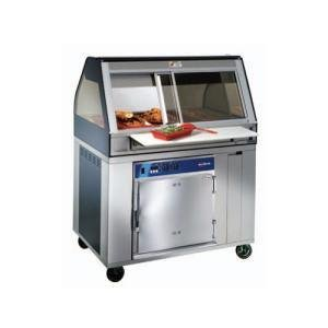 Alto-Shaam Eu2Sys-96 Ss Stainless Steel Cook / Hold / Display Case With Curved Glass And Base - Full