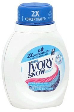 Ivory Snow 2x Ultra Liquid, 16 Loads, 25-Ounce Bottle