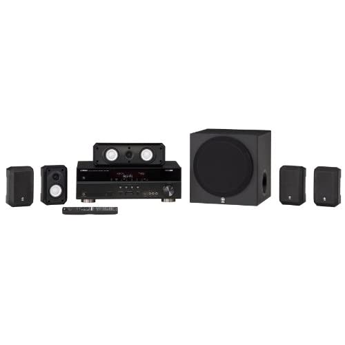 Yamaha YHT-395BL Complete 5.1-Channel Home Theater System