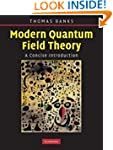 Modern Quantum Field Theory: A Concis...