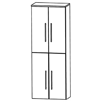 Puris Speed (HNA036A Bathroom High Cabinet 60 CM