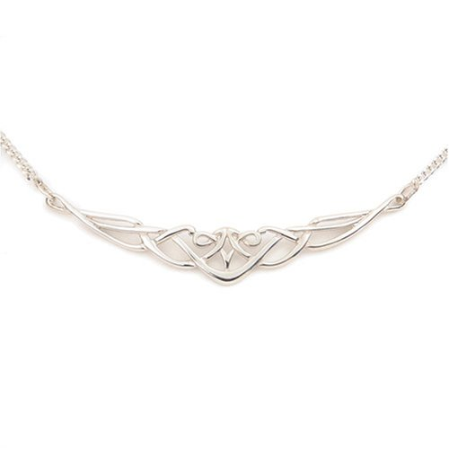 Ladies' Necklace, Sterling Silver Chain, 40.6cm Length, Model SN 12500, by Ortak