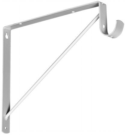 stanley hardware heavy duty shelf and closet rod support. Black Bedroom Furniture Sets. Home Design Ideas