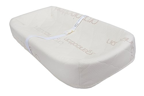 La Baby 4 Sided Pad with Organic Cotton Quilted Cover, Tan, 32""