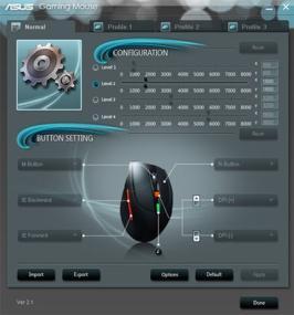 Profile einstellen und Tasten programmieren
