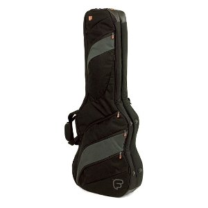 Fusion F2-19GDEB Double Electric Guitar Bag - Black/Grey
