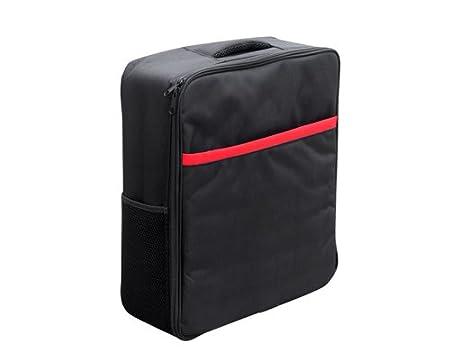 17.7 '' x 15 '' x 5.5 '' Nylon Durable Outdoor Sport Voyage sac de transport Stockage Soft Case Sac à dos avec personnalisée en mousse EVA pour Parrot Drone 3.0 Quadcopter Bebop - Noir (Petit)