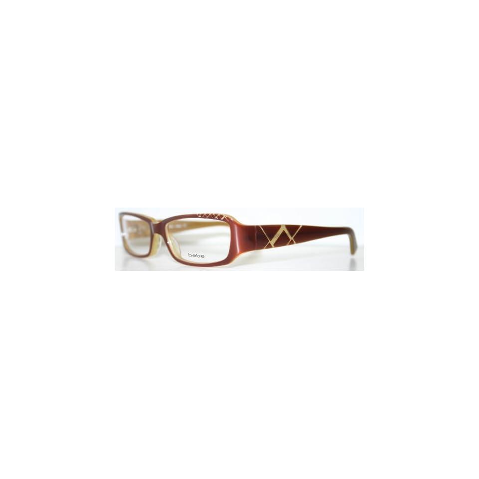 bd1baf4dacb1 BEBE VEEJAY BROWN New Womens Eyeglass Frame Everything on PopScreen