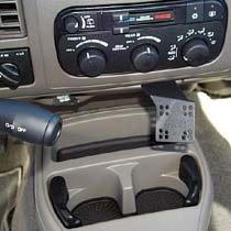 Panavise Custom Indash Mount For Dodge Durango, Dakota '01-04