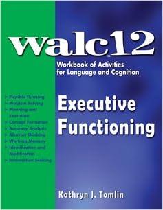 Strengthening Executive Function >> 28 Executive Functioning Workbook The Strengthening