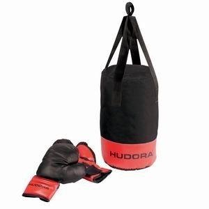 Hudora - Set de boxe avec gants et sac de frappe - 4 kg
