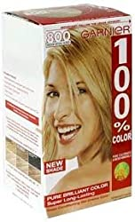 Garnier 100% Color Vitamin-Enriched Gel Crème, 800 Medium Natural Blonde