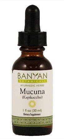 Banyan Botanicals Mucuna Pruriens Liquid Extract, 1 Oz